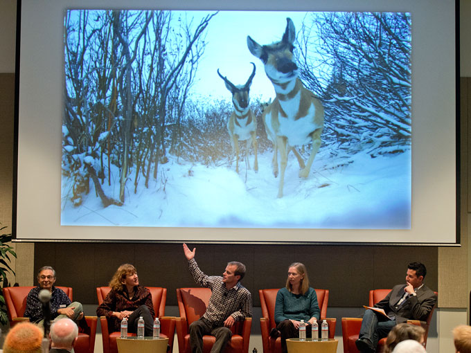 The Knight-Risser Symposium panel